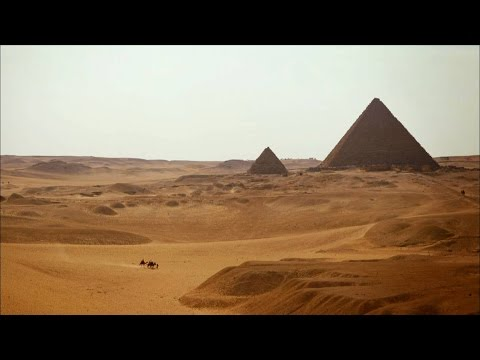 What the Completed Great Pyramid Would've Looked Like