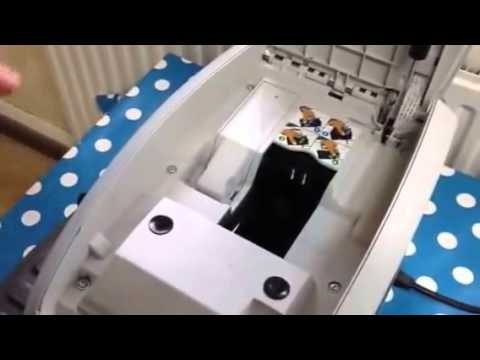 Changing the franking machine ink cartridge on a Neopost IS350   IS480