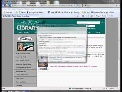 Nook - Guide to Downloading E-Books from RCPL