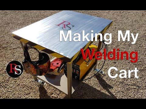 DIY - Making A Welding Cart - Welding Table