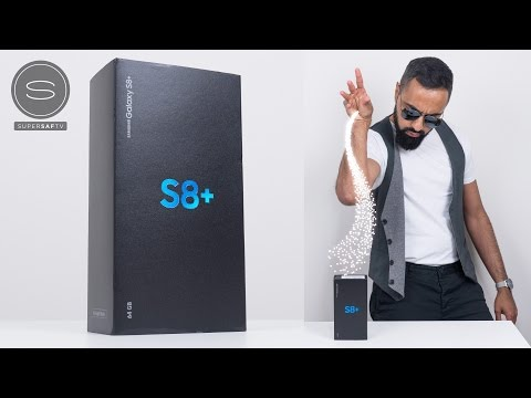 Samsung Galaxy S8 Unboxing - Salt Bae Style