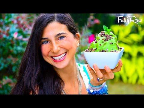 FullyRaw Chocolate Chip Mint Ice Cream!