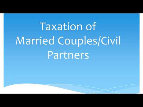 Taxation of Married couples