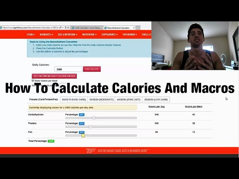 How To Calculate Calories And Macros