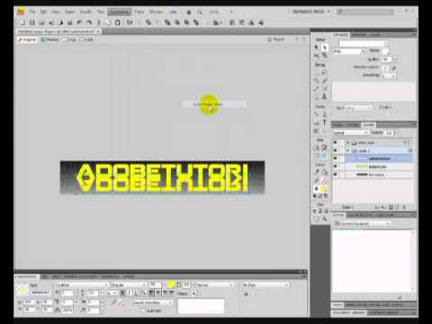 Adobe Fireworks CS4: How to Create A Banner