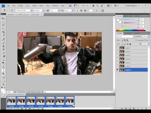 How to Make a GIF for Tumblr on Photoshop CS5