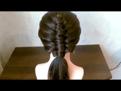 Beautiful hairstyle VERY EASY - fashion hairstyles 2018