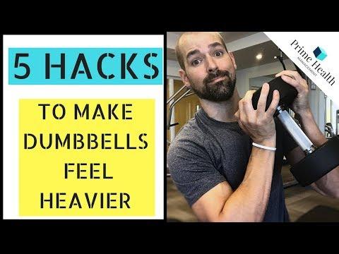 5 Hacks To Make Dumbbells Feel Heavier