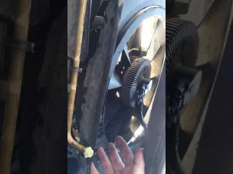 2005 Chevy trailblazer 4.2L radiator removal