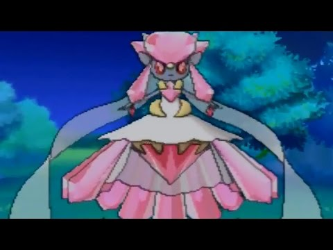 Pokemon Omega Ruby and Alpha Sapphire - Getting Mega Diancie