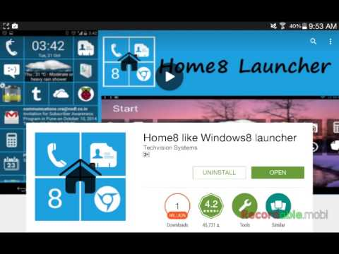 How to get windows 8 on any android device
