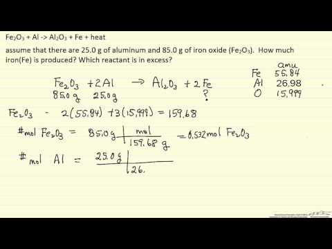 Calculate Mass of Product Formed (Example)