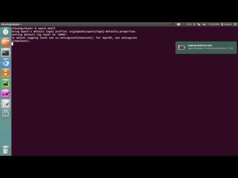 Apache spark Tutorial 3: Installing Apache spark on ubuntu-12.04 and 14.04