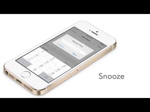 Snooze: create custom snooze times in the stock Clock app