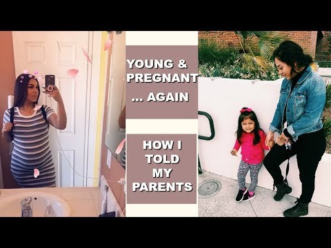 How I Told My Parents I'm Pregnant... AGAIN!