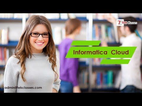 Informatica Cloud Tutorial | Informatica Cloud
