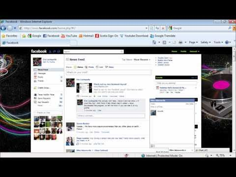 How to get background on Facebook