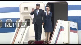 LIVE: Chinese President Xi Jinping arrives in Moscow