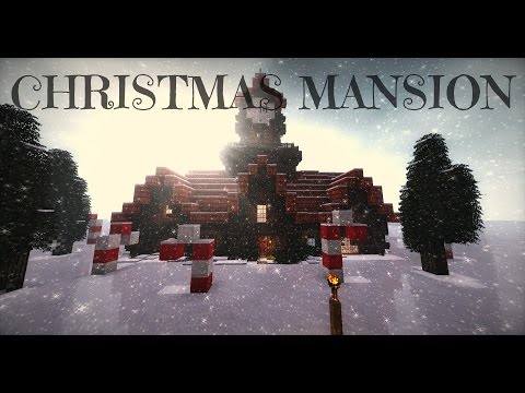 Minecraft Cinematic - Christmas Mansion!