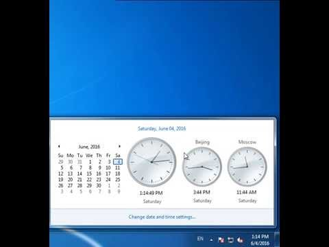 How to Show Different Time Zone Clock on Windows Desktop