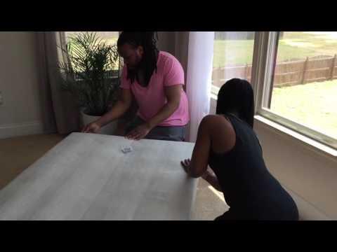 DIY: futon couch restoration/refabric