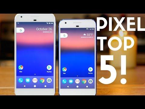 Google Pixel & Pixel XL Top 5 Features!