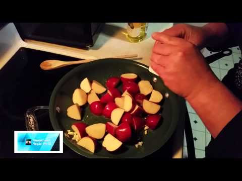 Roasted Garlic and Parsley New Red Potatoes