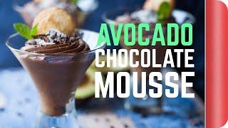 Avocado Chocolate Mousse Recipe #spon