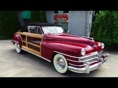 1947 Chrysler Town and Country Griffey's Hot Rods and Restroations