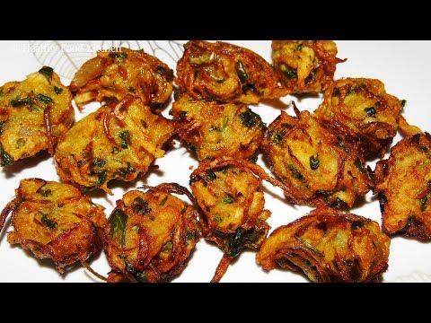 Evening Snacks Recipe in Tamil - Pakoda Recipe - Aloo Pakora Recipe - Potato Pakoda Recipe