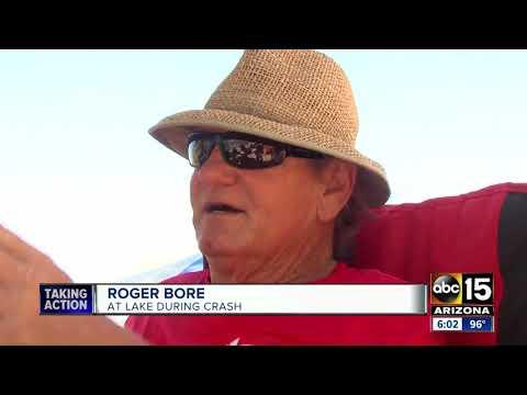 Boaters speak out after Apache Lake jet ski crash involving kids