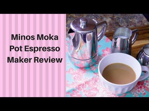 Minos Moka Pot Espresso Maker Review/Tutorial