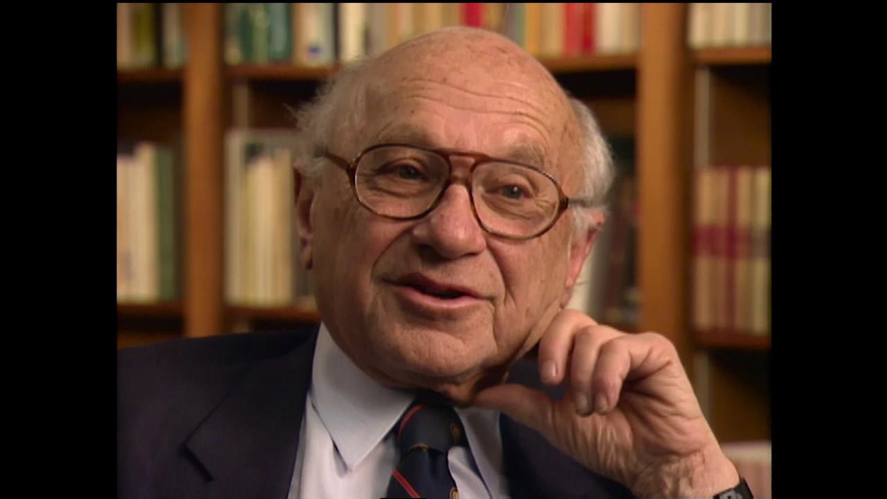 Milton Friedman, Academy Class of 1971, Full Interview