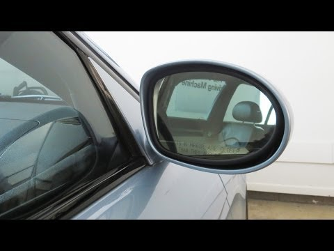 BMW E39 M5 Side Mirror Glass Replacement DIY