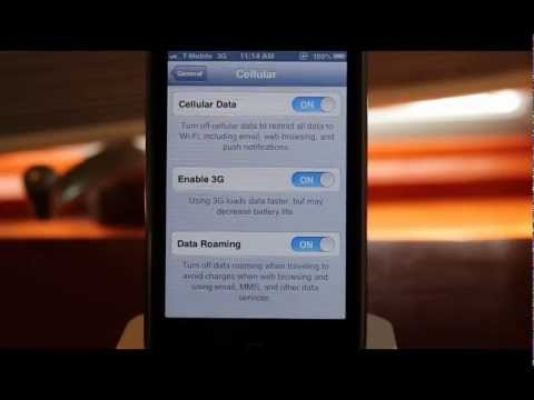 HowTo: Get 3G on Unlocked T-Mobile iPhone 3Gs/4/4s/5