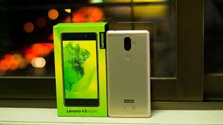 Lenovo K8 Note Fine Gold 4GB Unboxing- Indian Retail Unit