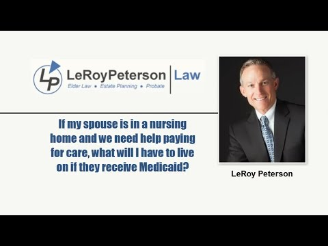 Medicaid Qualifications and Nursing Home Care   Omaha NE   LeRoy Peterson Law