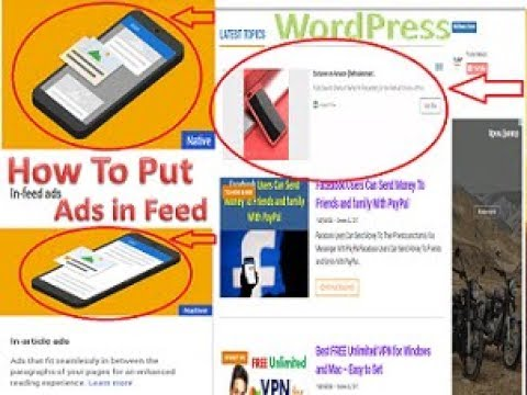 How To Put Adsence INFeed Ads Between Post    in WordPress    Ad Inserter