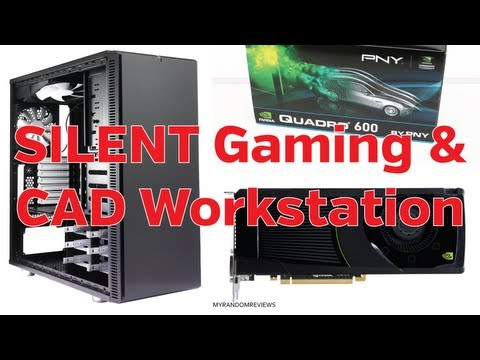 Silent Quadro CAD Workstation and GTX 680 Gaming System
