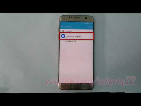 Samsung Galaxy S7 Edge : How to Enable or Disable Samsung Sync Internet (Android Marshmallow)