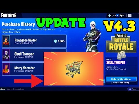 NEW CHANGES COMING To Fortnite After Downtime Week 5! (Shopping Cart, Refund System & More) V4.3