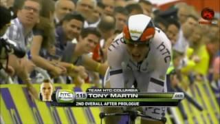 Tour De France (2010) Prologue Highlights And Final Kilometres