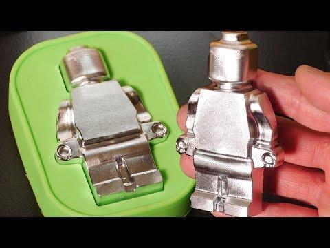 DIY Large Metal Lego-Style Figures - Gallium