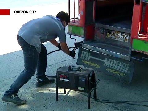 Mahigit 80% ng mga PUV bagsak sa smoke emission testing ng LTO at DENR sa QC