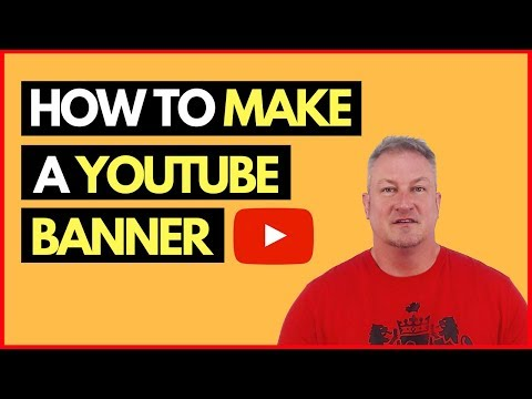 How to Make a YouTube Banner + FREE YouTube Channel Art Template