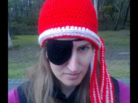 Eye Patch Crochet Tutorial