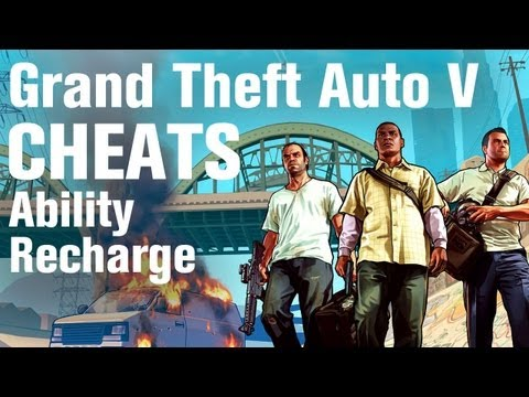 GTA 5 Cheats - Special Ability Recharge