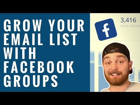 How to Turn Your Facebook Group into a List Building Machine