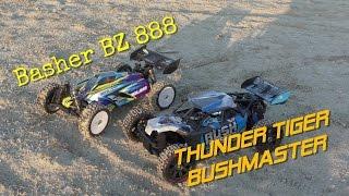 Basher BZ 888 6s & TT Bushmaster in Action German Full HD