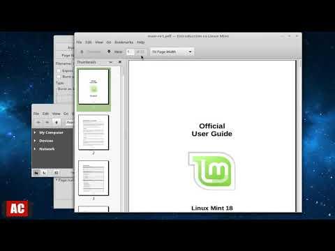 jPDF Tweak-Reorder PDF Pages on Linux Mint Cinnamon